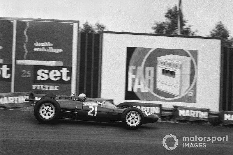 10. Chris Amon: 19 años y 324 días en el GP de Bélgica 1963