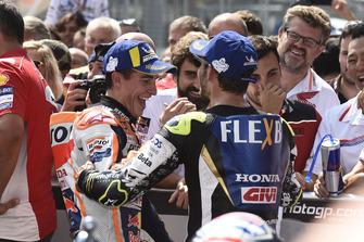 2. Marc Marquez, Repsol Honda Team, 4. Cal Crutchlow, Team LCR Honda
