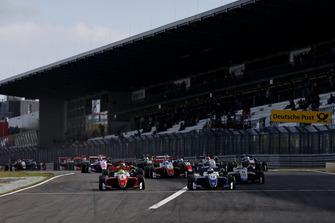 Start der Formel-3-EM auf dem Nürburgring 2018