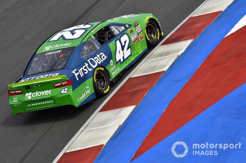 5. Kyle Larson, Chip Ganassi Racing, Chevrolet Camaro Clover/First Data