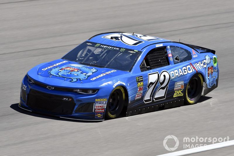 32. Corey LaJoie, TriStar Motorsports, Chevrolet Camaro Dragonchain