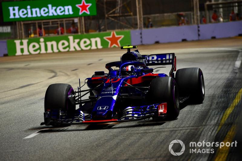 15: Пьер Гасли, Scuderia Toro Rosso STR13
