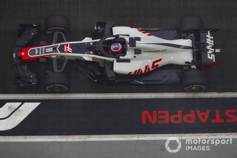 8: Ромен Грожан, Haas F1 Team VF-18
