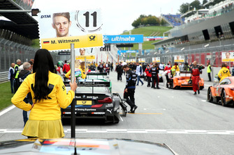 Grid girl of Marco Wittmann, BMW Team RMG