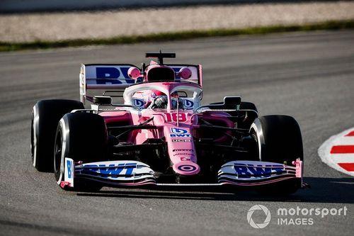 Testy F1 - Barcelona I