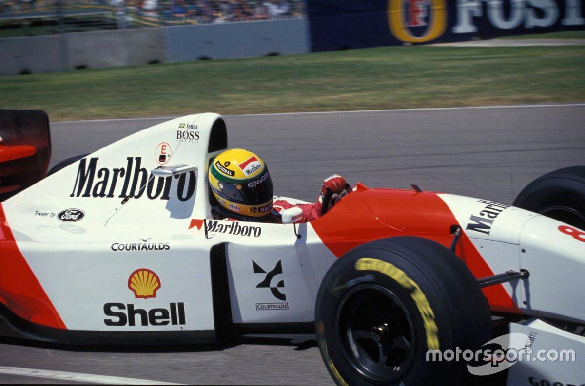 Ayrton Senna, McLaren MP4-8