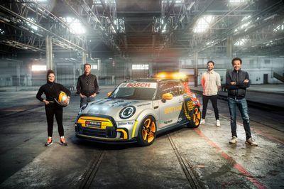 Mini FIA Formula E Safety Car unveil