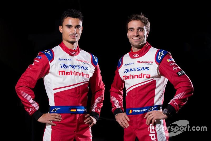 Pascal Wehrlein y Jérôme D'Ambrosio, Mahindra Racing