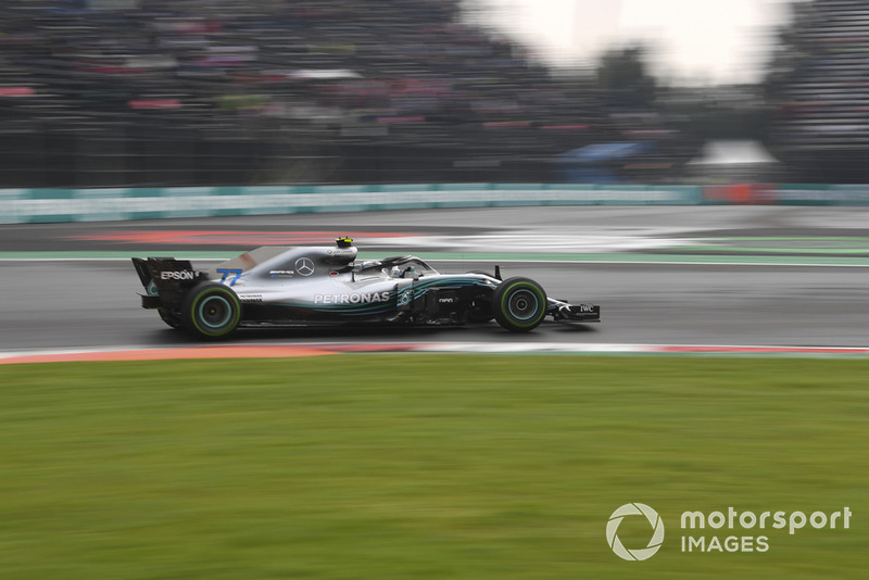 5: Valtteri Bottas, Mercedes-AMG F1 W09, 1:15.160