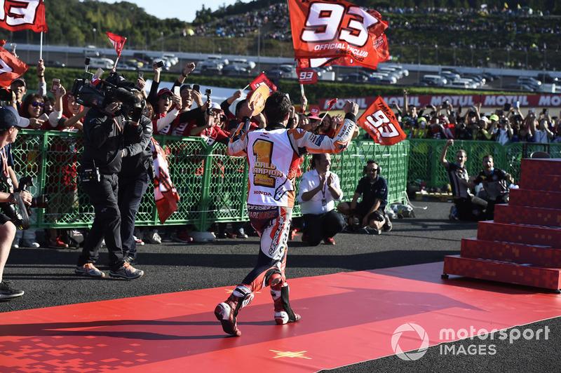 Campeón Marc Marquez, Repsol Honda Team
