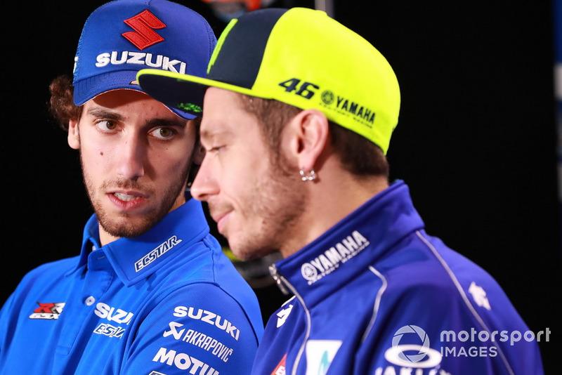 Алекс Рінс, Team Suzuki MotoGP, Валентино Россі, Yamaha Factory Racing