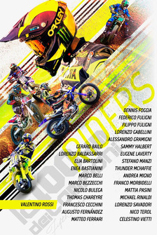 Poster entry List Race of Champions VR46