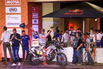 Podium: Hero Motorsports Team Rally: Oriol Mena