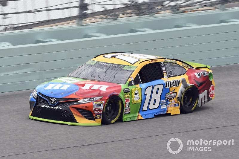 Kyle Busch (Gibbs-Toyota): Vierter mit P4 im Rennen