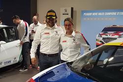 Paolo Andreucci e Anna Andreussi, Peugeot Sport Italia