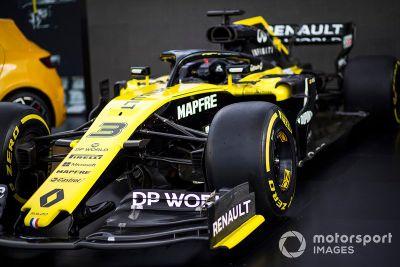 Renault - Prezentacja barw