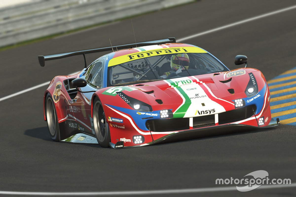 Ferrari Virtual 24H Le Mans announcement