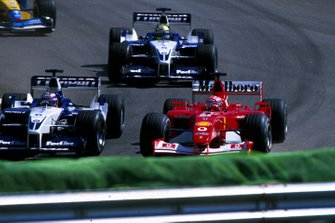 Michael Schumacher, Ferrari, Juan Pablo Montoya, Ralf Schumacher