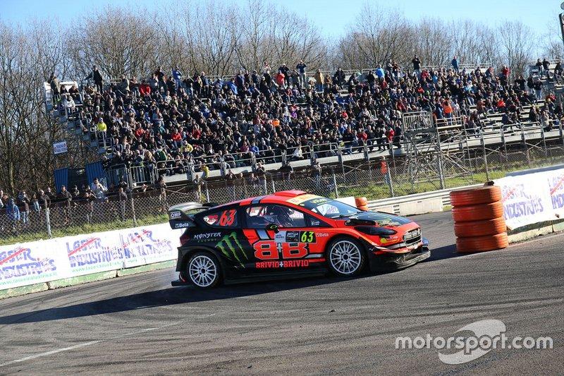Roberto Brivio, Luca Brivio, Ford Fiesta WRC