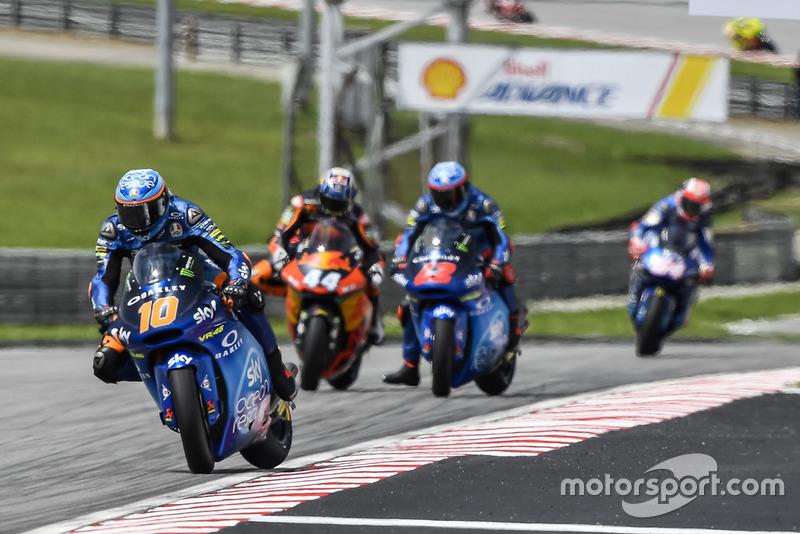Luca Marini, Sky Racing Team VR46, Miguel Oliveira, Red Bull KTM Ajo, Francesco Bagnaia, Sky Racing Team VR46
