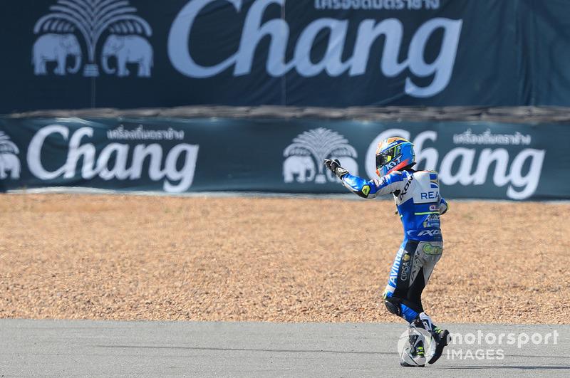Xavier Simeon, Avintia Racing, terjatuh