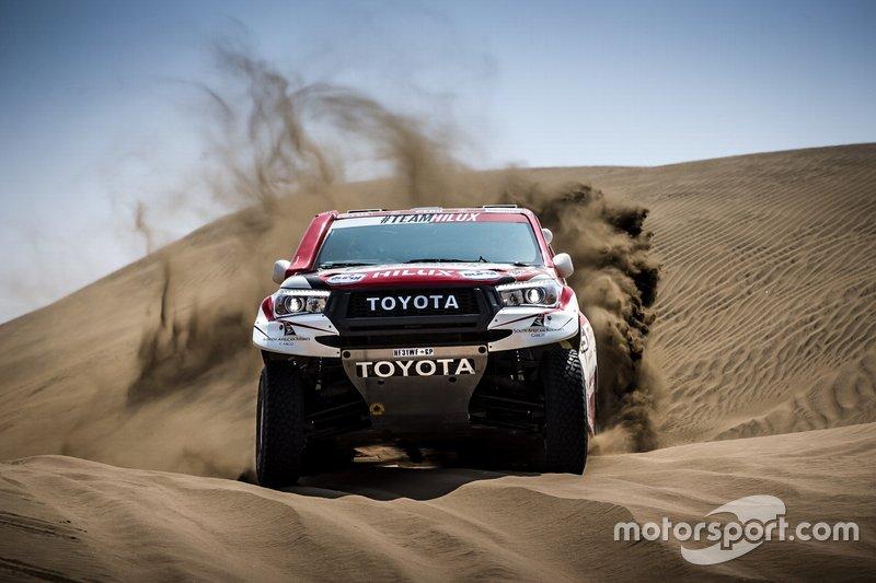 №302 Toyota Gazoo Racing SA: Жиньель де Вильерс, Дирк фон Цицевиц