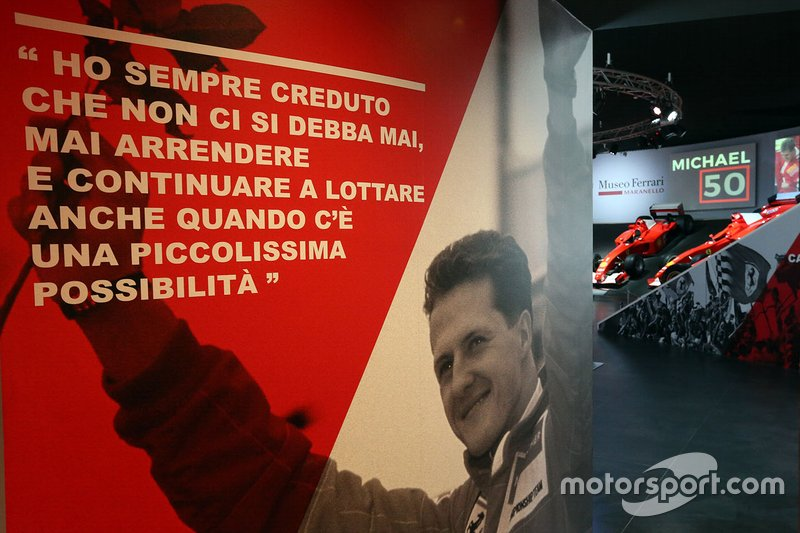 L'exposition Michael 50 au musée Ferrari de Maranello