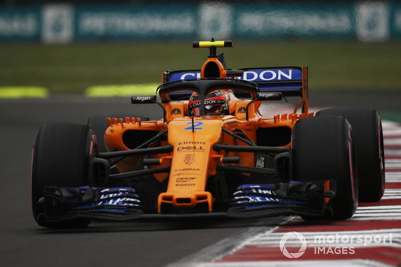 15: Stoffel Vandoorne, McLaren MCL33, 1:16.966