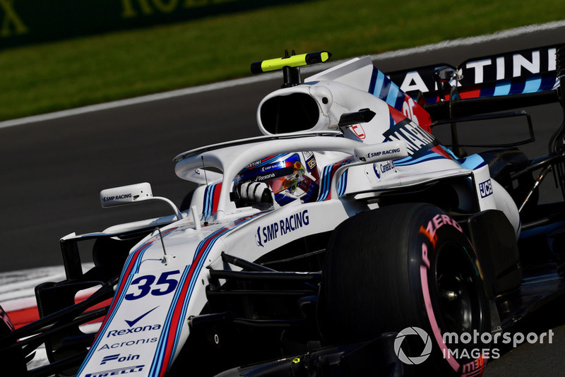 19. Sergei Sirotkin, Williams FW41
