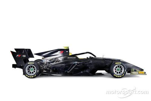 الكشف عن سيارة الفورمولا 3 لموسم 2019