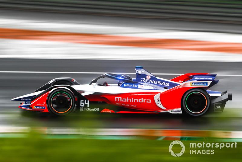 Жером д'Амброзіо, Mahindra Racing, M5 Electro з підсвіткою на системі Halo