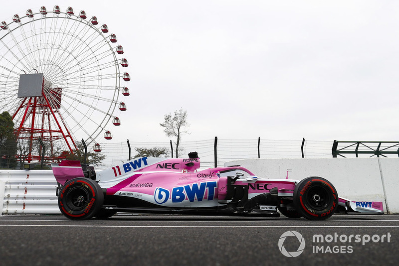9. Sergio Perez, Racing Point Force India VJM11