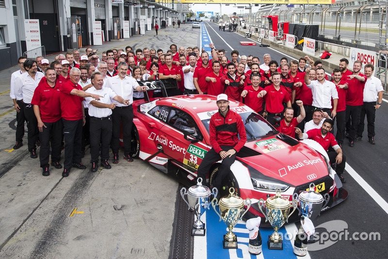 René Rast, Audi Sport Team Rosberg with the team