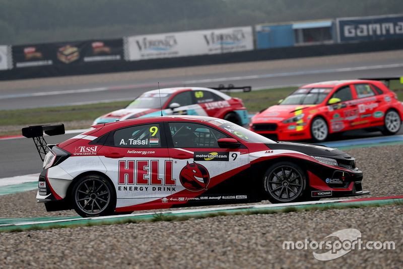 Attila Tassi, Hell Energy Racing with KCMG Honda Civic Type R TCR