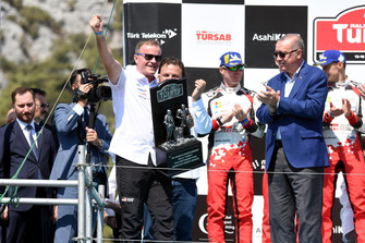 Tommi Makinen, Toyota Gazoo Racing Team Manager, Recep Tayyip Erdoğan, President of Turkey
