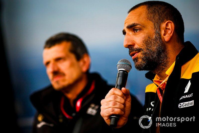 Cyril Abiteboul, directeur général, Renault F1 Team