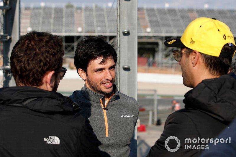 Карлос Сайнс-мол., McLaren, Даніель Ріккардо, Renault F1 Team