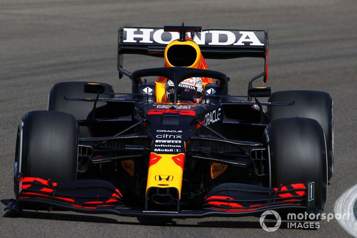 P3 Max Verstappen, Red Bull Racing RB16B