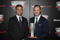 Tequila Patron North American Endurance Cup winners Brian Cotter and  Rob Moran of AMG Mercedes