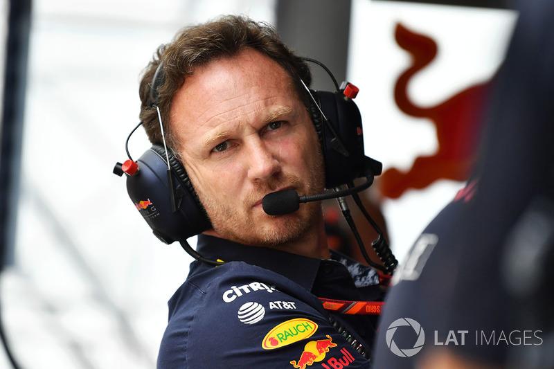 Christian Horner, director de Red Bull Racing Team