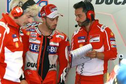 Gigi Dall'Igna, Gerente del equipo Ducati, Andrea Dovizioso, Ducati Team