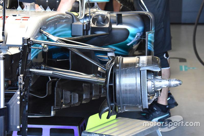 Mercedes AMG F1 W08: Bremse