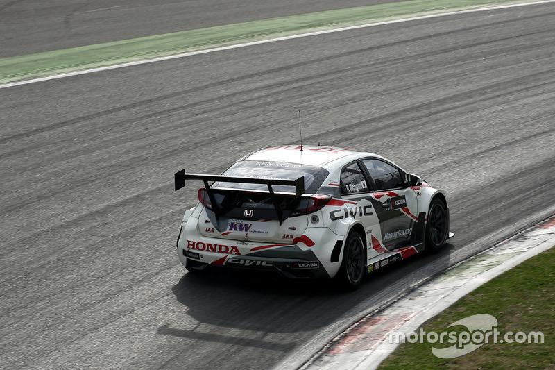 WTCC-Test in Monza, März