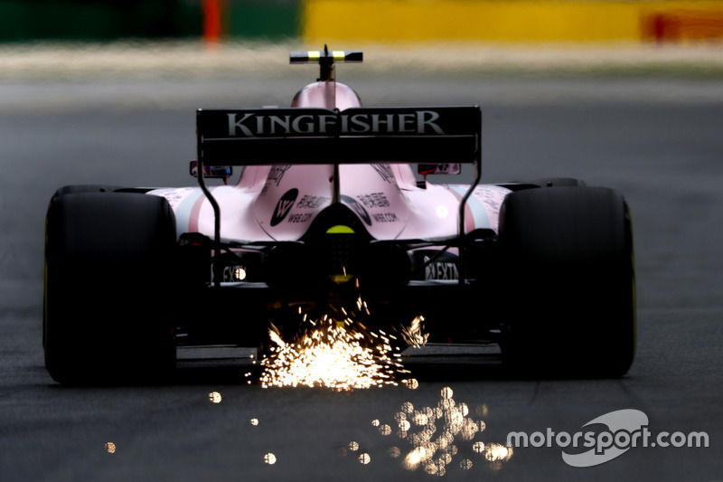 F1, Melbourne 2017: Esteban Ocon, Force India VJM10