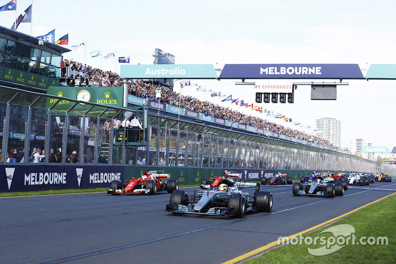 Formule 1 LIVE: Grand Prix van Australië