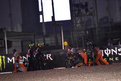 Авария, Жоан Зарко, Monster Yamaha Tech 3