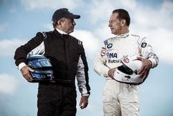 Klaus Ludwig, Mercedes 190 E DTM y Johnny Cecotto, BMW M3 DTM