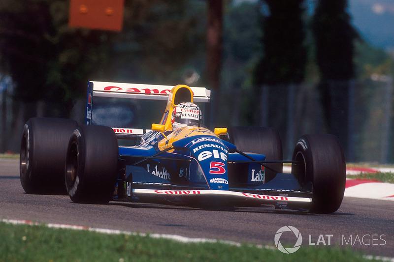 Williams 1992: Nigel Mansell, Williams FW14B (y Ligier JS37)