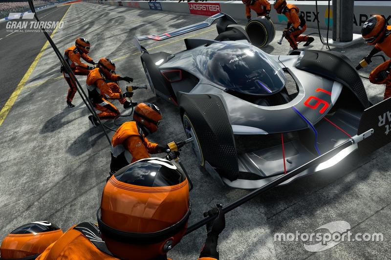 McLaren Ultimate Vision Gran Turismo (septiembre 2017)