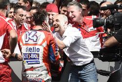 Andrea Dovizioso, Ducati Team, Claudio Domenicali